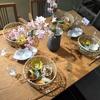 お花見テーブル